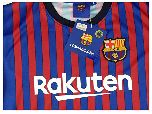 Barcelona Camiseta Réplica Infantil Primera Equipación 2018 2019 - Dorsal  Messi 10. c6ced75aef644