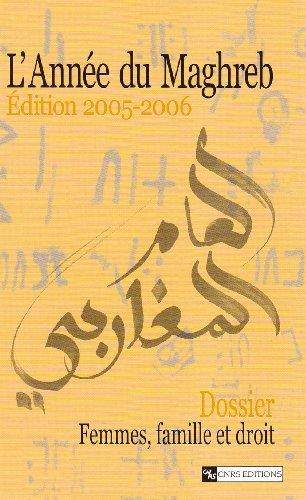 L'Année du Maghreb 2005-2006