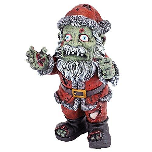 Weihnachtsdeko - Zombie Weihnachtsmann Feiertags-Dekor Zombie Apocalypse Statue