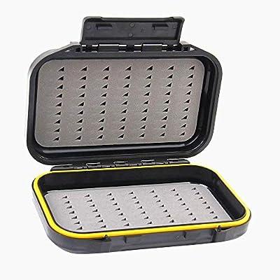 Hilai Waterproof Dual-Layer Fly Fishing Bait Storage Case Box from Hilai