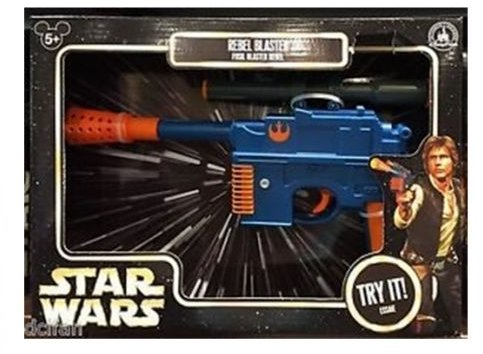 Kostüm Solo Han Blaster Mit - Disney Parks Exclusive Authentic Original Star Wars Han Solo Rebel Blaster mit elektronischem Blaster Sound