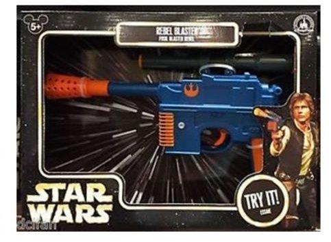 Disney Parks Exclusive Authentic Original Star Wars Han Solo Rebel Blaster mit elektronischem Blaster ()