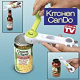 Cartshopper 6 in 1 One Touch Can Opener Easy Unbolt Kitchen Cando Tool