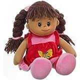 Heunec 470576 - Poupetta Lucy mit braunem Haar L