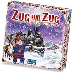 200508 - Days of Wonder - Zug um Zug Skandinavien Zug um Zug