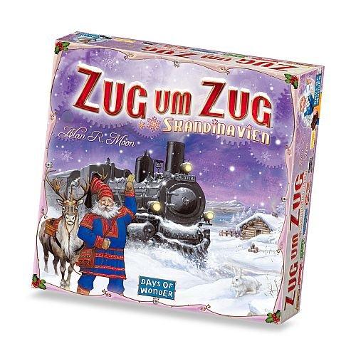 200508 - Days of Wonder - Zug um Zug Skandinavien (Züge Brettspiel)