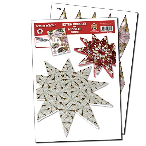 Quilling Template 1/10 Modul Star (ohne Pappe)