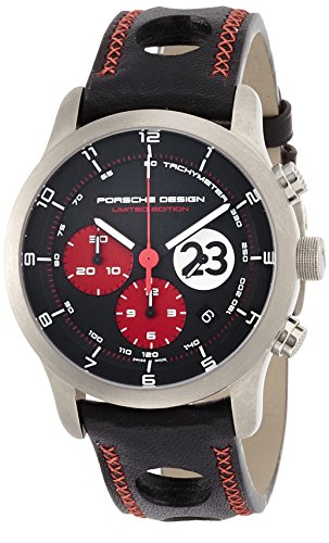 Limited Edition Porsche Design Dashboard Le Mans 1970 Titanium Mens Watch 6612.11.48.1234