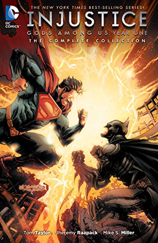 Inspired by the video game phenomenon, INJUSTICE: GODS AMONG US YEAR ONE-THE COMPLETE EDITION collects the initial year of the best-selling series in its entirety for the first time! Superman is Earth's greatest hero. But when the Man of Steel can't ...