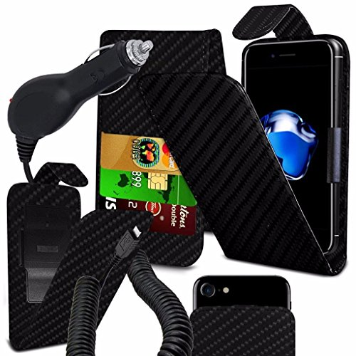 coolpad-rogue-case-super-essentials-pack-clamp-spring-style-cuir-pu-wallet-chargeur-carbon-black