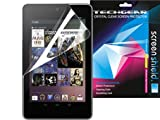 **PACK OF 2** GOOGLE NEXUS 7 Tablet / ASUS GOOGLE NEXUS 7 / 7 Inch CLEAR Screen Protector Guard Supplied in Strong Card Retail Packing with Cleaning Cloth & Smoothing / Application Card - TECHGEAR