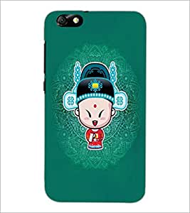 PrintDhaba Cartoon D-4162 Back Case Cover for HUAWEI HONOR 4X (Multi-Coloured)