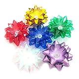 xMxDESiZ Buntes Nachtlicht der Blumen-Lichtwellenleiter-LED glühendes Spielzeug-Lampen-Ausgangsdekor Zufällige Farbe