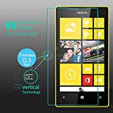 M.G.R Tempered Glass Screen Protector for Nokia Lumia 520