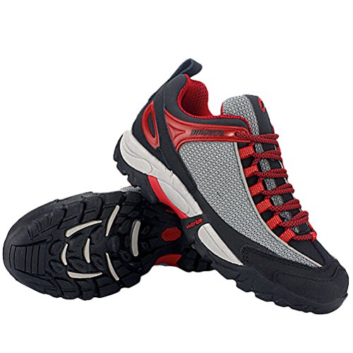 MatchLife Herren Camouflage Wanderschuhe Sports Schuhe Style2-Schwarz