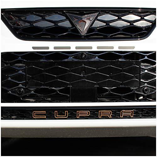 Finest Folia Folie für Emblem Schrift Schriftzug Aufkleber an Grill Auto Front Fahrzeug Cover passgenau (Kupfer Matt Metallic (SE16))