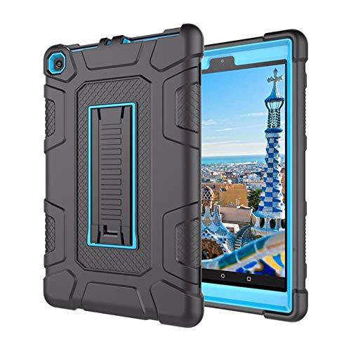 WDBHTAO Caso Kindle Copertura di Custodia per Amazon Kindle Fuoco HD 8  2017/2018 8 Gen Tablet Caso Supporto Antiurto con Coperchio Rigido  Coperchio