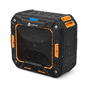 iClever IC-BTS03 sport waterproof wireless speaker,black&orange
