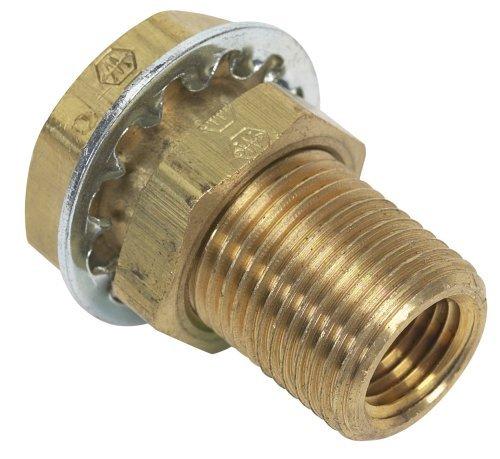 Moeller Brass Fuel Line Hose Barb (Female 1/4 NPT 1/4) by Moeller Marine -