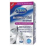 Optrex ActiMist 2-in-1 Dry Plus Irritated Eye Spray, 10 ml Bild