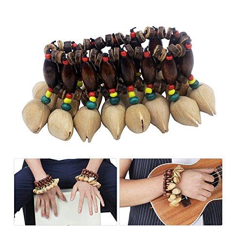 African Nuts Shell Handbell Djembe Drum Conga Percussion Zubehör Handgefertigte Schlagzeug & Schlagwerk