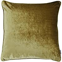 EXTRA LARGE 22 inch  CUSHION BLACK GOLD AND GREEN