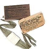 US Army DRESSING FIRST AID M56 ORIG Verbands Päckchen Mullbinde erste Hilfe Sanitäter USA Korea Krieg 50er Jahre Amerika USMC Navy GI Reenactment #17138