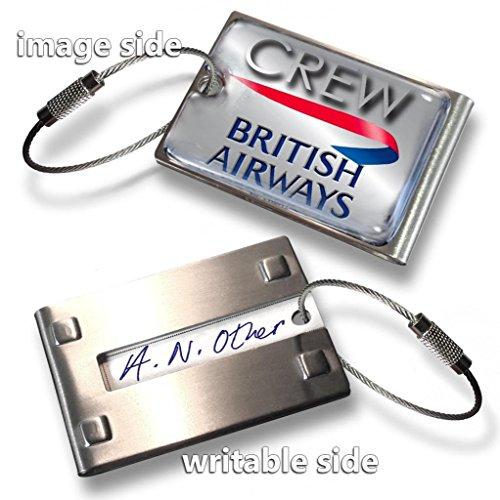 british-airways-crew-tagmetal-silver
