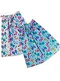 Sackcloth Sally Lot de 2 Serviettes de Table Enfant élastiquées - Papillon