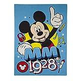 Kinderteppich Mickey Mouse 133x 95cm Disney mm 1928