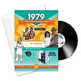 1979 Jubiläum oder Geburtstag Geschenke - 1979 4-in-1 Karten und Geschenk - Story of Ihr Jahr, CD, Musik-Download