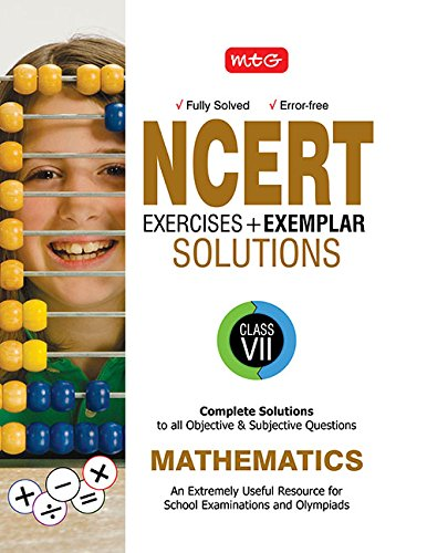 NCERT Exercises  + Exemplar Solutions Mathematics - Class 7