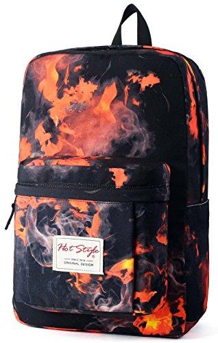 Imagen de hotstyle hoppor fuego  escolar 24l  impermeable para portatil de 15 inch  rojo
