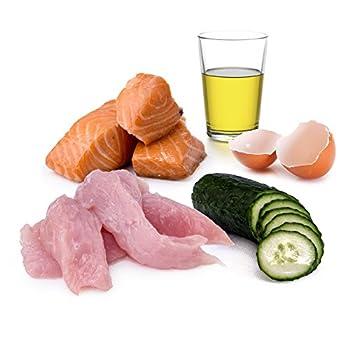 AniForte Poudre de® purena Ture 6x 400g chat Menu getreidefrei Fish & Turkey Doublure de Nourriture humide Produit naturel pour chat (Fine saumon et dinde, 6x 400g)