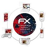 atFoliX Anti-casse Protecteur d'écran pour Wismec Luxotic DF Box Anti-choc Film Protecteur - 2 x FX-Shock-Antireflex amortisseur anti-éblouissement Film Protection d'écran