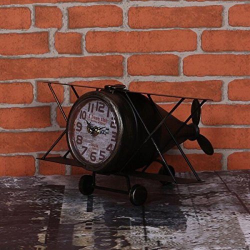 Continental Ferro Velivoli Retro Clock Styling Decoration,C