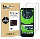 iVoler [Pack de 3] Verre Trempé pour Motorola Moto G6, Film Protection en Verre trempé écran Protecteur vitre