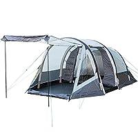 skandika unisex folldal 4 tent, grey, size 4