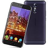 "Ulefone Gemini - 4G Smartphone Libre ( Android 6.0, 5.5"" FHD Pantalla, Resolución 1920 x 1080, MT6737T Quad Core 1.5GHz, 3Gb Ram 32GB ROM, Dual Sim, Cámara Dual 13MP + 5MP, Identificación de Huellas, OTG ) (Negro)"