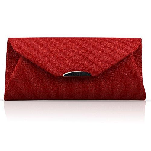 BYD, Borsa a spalla donna rosso