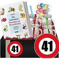 Zahl - 41 | Gesundheit DIY-Set | 41-Geburtstag Deko