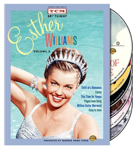 Bild von TCM Spotlight: Esther Williams, Vol. 2 (Thrill of a Romance / Fiesta / This Time for Keeps / Pagan Love Song / Million Dollar Mermaid / Easy to Love)
