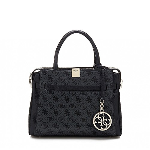 guess-christy-girlfriend-satchel-sg662506-damen-schultertasche-30x235x12cm-coal