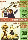 Programa Doble  Comedia Bélica La 2ª Guerra Mundial En Italia (El Secreto De Santa Vittoria Y ¿Qué Hiciste En La Guerra,Papi?) [DVD]