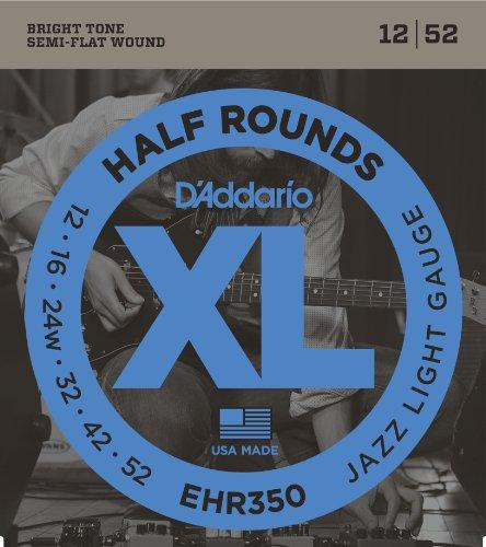 D'Addario EHR350 - Juego de cuerdas para guitarra eléctrica.012 - .052
