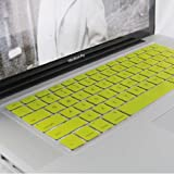 PINDIA MACBOOK PRO NORMAL SILICON KEYBOARD COVER YELLOW