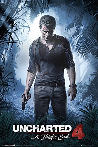 Poster Uncharted 4 - A Thief's End (61cm x 91,5cm)