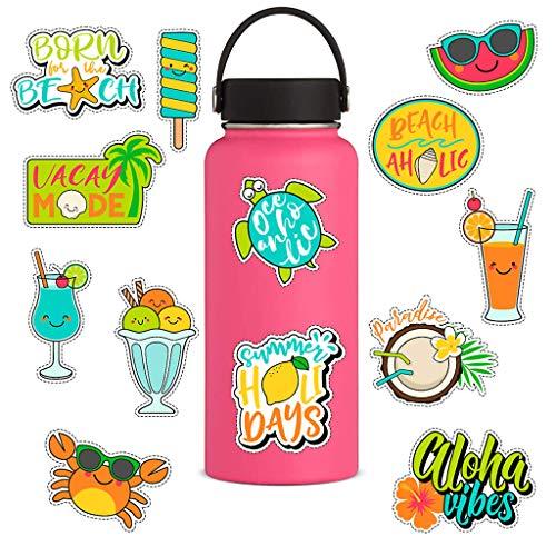 MA87 Wasserflasche Aufkleber Flaschen große süße wasserdichte ästhetische trendige Aufkleber für Jugendliche -