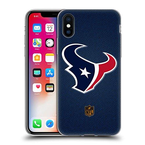 Offizielle NFL Fussball Houston Texans Logo Soft Gel Hülle für Apple iPhone 6 / 6s Fussball