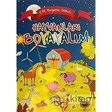 Hayvanları Boyayalım - Efe Boyama Serisi